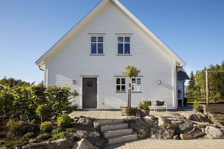 Villa Sjövik sida fasad