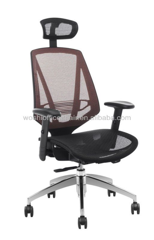 High back adjustable PU armrestswivel office chair for sale