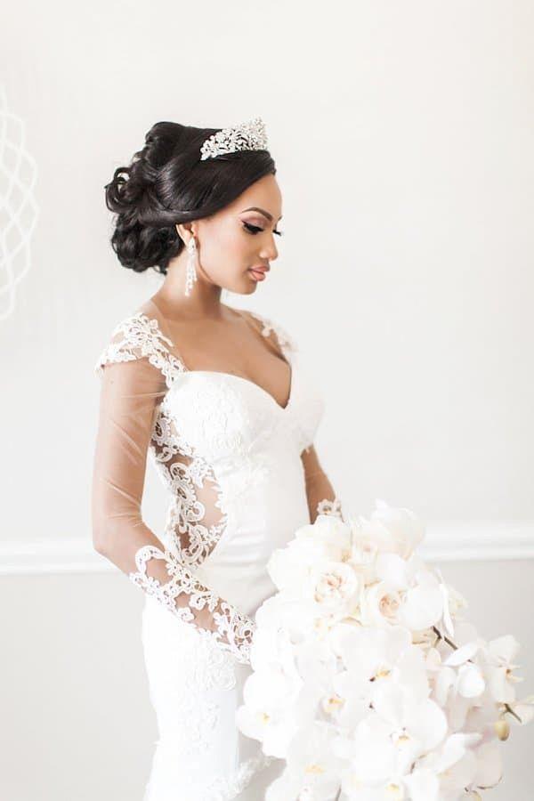 Wedding Hairstyles For Black Women Black Wedding Hairstyles