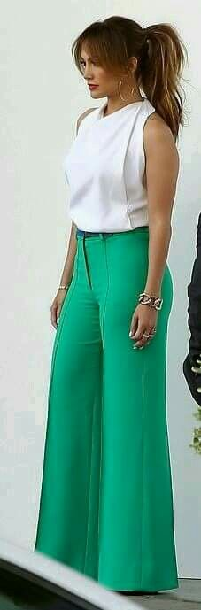 Casual dressy wide leg pants