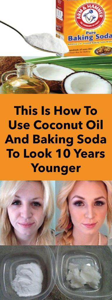 Dies ist wie man Kokosöl und Backpulver verwendet…