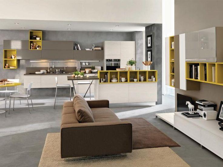 7 best SWING   Cucine Lube Moderne images on Pinterest Chair - moderne offene küche