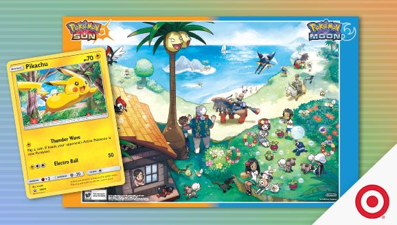 Pokémon Sun and Pokémon Moon Blast Off at Target! | Pokemon.com
