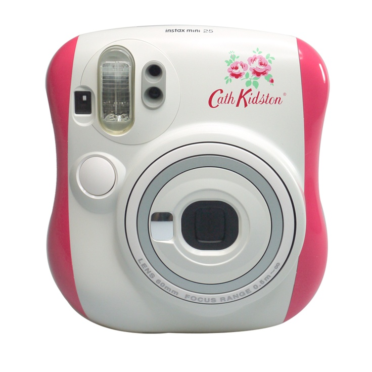 fujifilm instax mini 25 cath kidston pink special addition. Black Bedroom Furniture Sets. Home Design Ideas