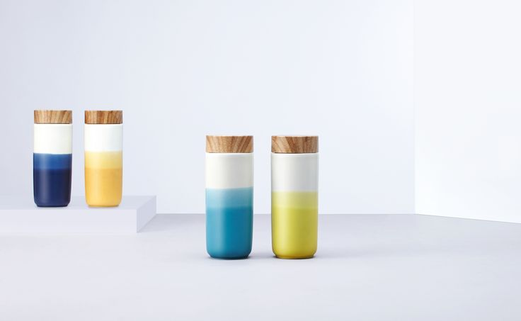 It's #colorful the new series of #Travel #Mug of #Acera, the best #accessory for travelers.