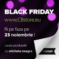 Black Friday la www.CBstore.eu