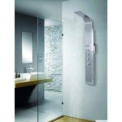 Colonna doccia idromassaggio in alluminio kamalubagno