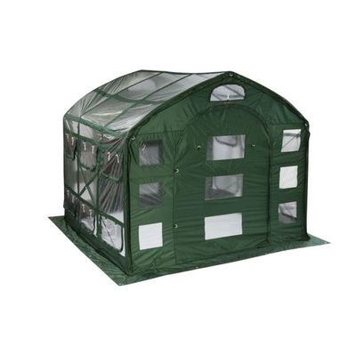 Clear Farmhouse Greenhouse, 9' x 9'