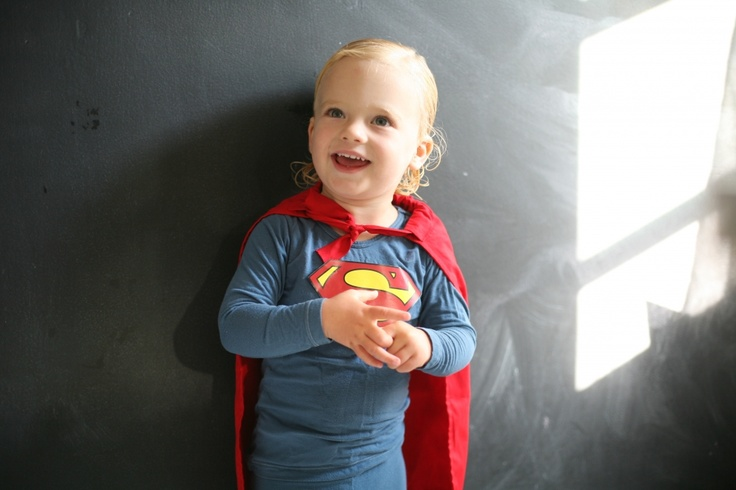 Our hero! #Halloween #Costumes #Kids #Superman