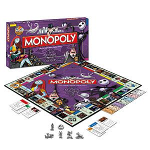 Christmas Gifts: Top Presents for Couples You Adore — Kathln. The Nightmare Before Christmas Monopoly