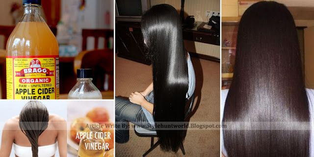 She Washes Her Hair With Apple Cider Vinegar, The Result is Astonishing! - Style Hunt World | Makeup Tutorials | Home Remedies | Eyeliner Tips