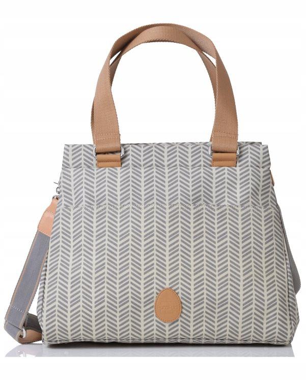 Pacapod Torba Dla Mamy Richmond Szara Jodelka 8183419845 Oficjalne Archiwum Allegro Bags Changing Bag Nappy Bag