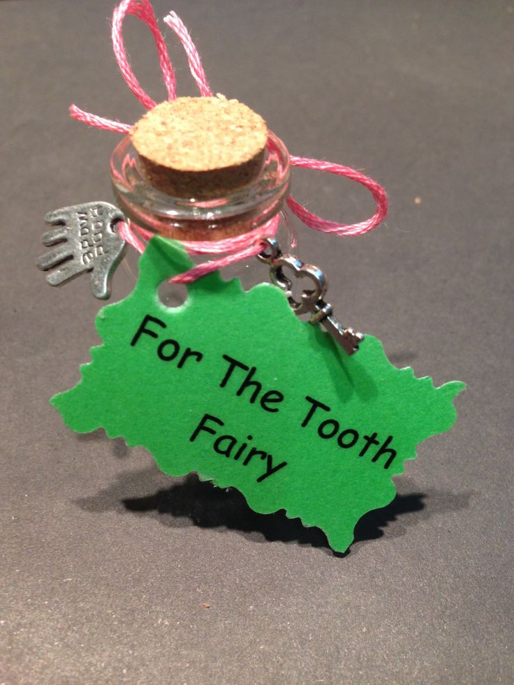 A personal favourite from my Etsy shop https://www.etsy.com/listing/231173360/tooth-fairy-jars-cork-glass-thank-you