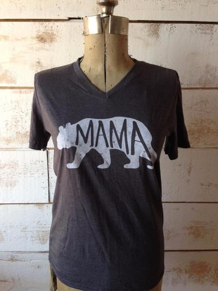 Mama Bear Tee  The Passionate Home
