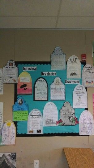 Industrial revolution graveyard project world history