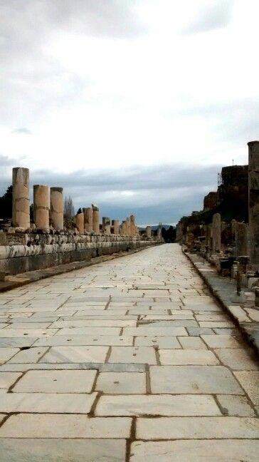 The Marble road, Ephesus.