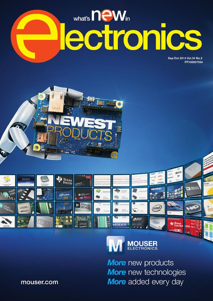 What's New in Electronics Sep/Oct 2014