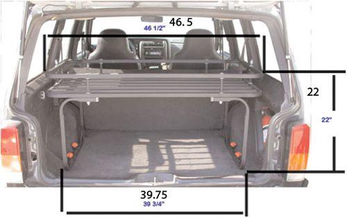 Olympic 4x4 Products :: Cherokee XJ :: Mountaineer Rack for Jeep Cherokee XJ