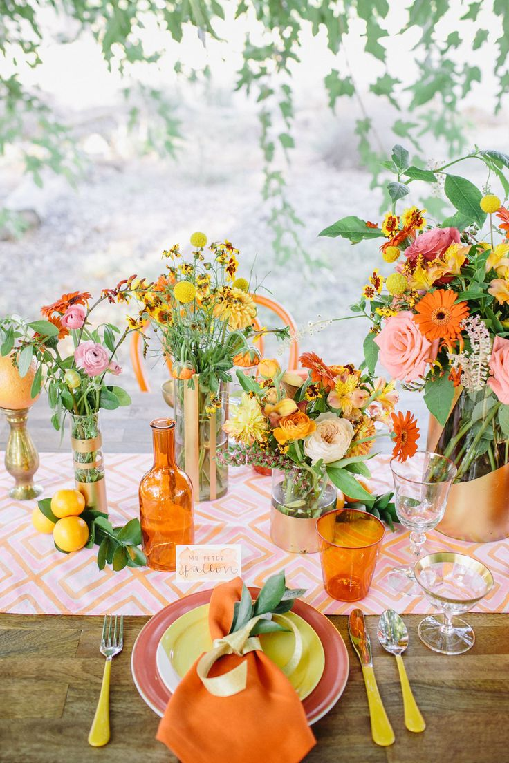 Citrus Inspired Photo Shoot from Anna Delores