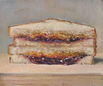 Duane Kaizer peanut butter and jelly sandwich.