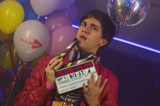 O youtuber Christian Figueiredo em imagem de divulgação de 'Internet - O Filme
