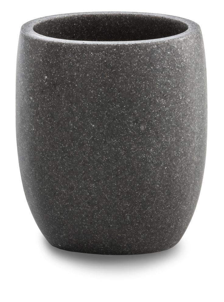 #Cipì #Zen Bicchiere CP905/47-M16 | #Resine #rustico | su #casaebagno.it a 10 Euro/pz | #accessori #bagno #complementi #oggettistica #gadget