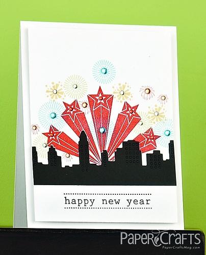 Big City New Year Card by @Gayatri Murali
