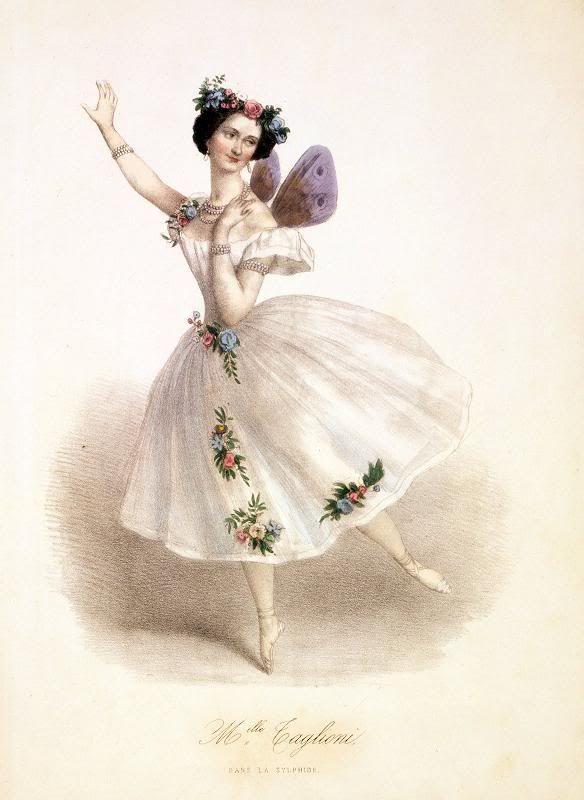 Балет на открытках