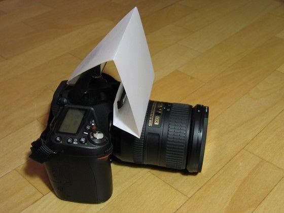 DIY D90 Pop-up flash diffuser: Nikon DX SLR (D40-D90, D3000-D7000) Talk Forum: Digital Photography Review