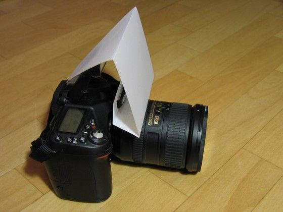 DIY D90 Pop-up flash diffuser: Nikon DX SLR (D40-D90, D3000-D7000) Talk Forum: Digital Photography Review