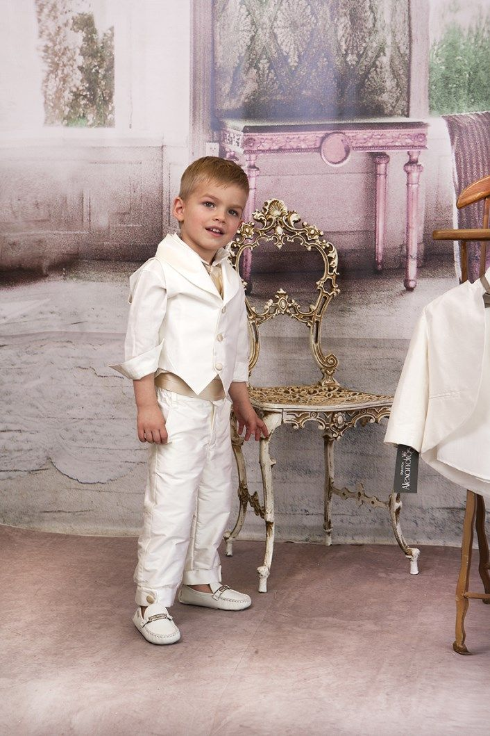 Christening Suit Baptism Suit  Sty.No G 1013-1 www.babyhautecouture.com