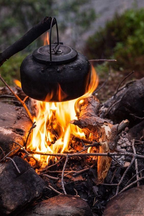 Morning Coffee: Outdoor, Campfire, Bushcraft Camping