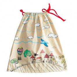 Vestido para bebé hecho y pintado a mano Le Petit Mammouth