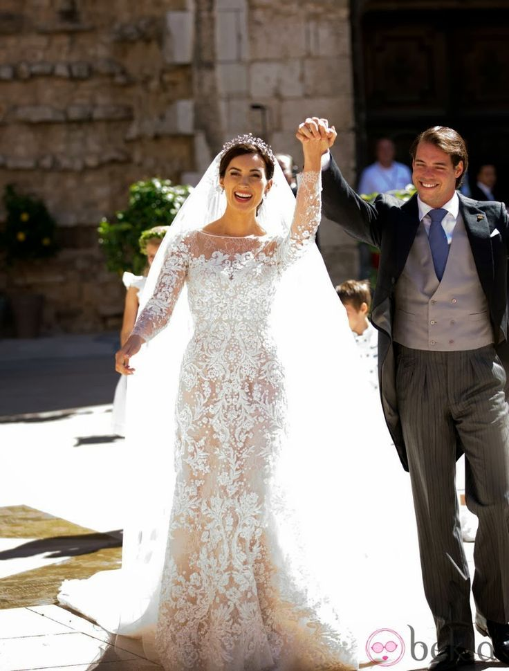 MYROYALS &HOLLYWOOD FASHİON: Wedding of Prince Felix and Claire Lademacher - Religious Ceremony