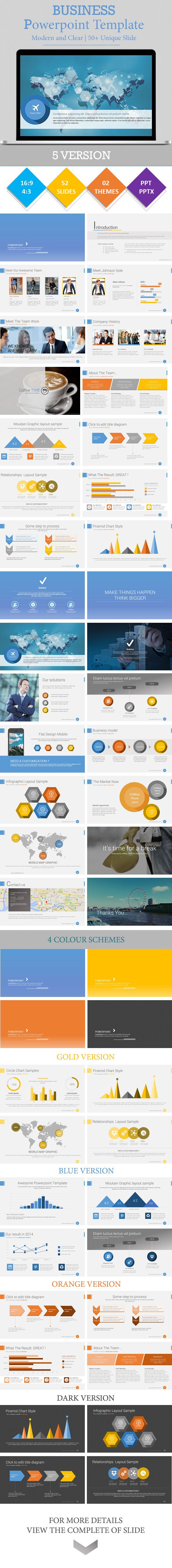 BUSINESS - Powerpoint Presentation Template (Powerpoint Templates) Image 20Preview