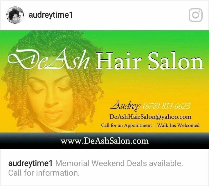 Pin By Deash Hair Salon On Blackhaircare Memorial Weekend Hair Salon Weekend Deals