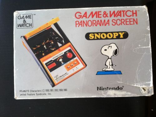 Snoopy (Panorama) (Game & Watch, 1983) | Game, Snoopy and ...