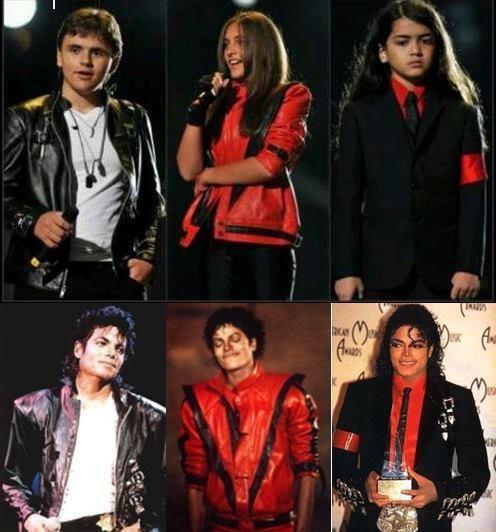 Prince <3 Paris <3 Blanket <3 L.O.V.E. Michael and his kids <3