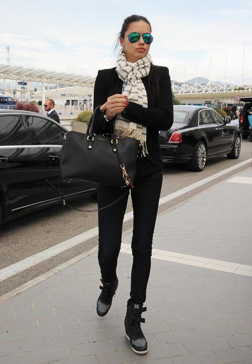 Model Off Duty: Adriana Lima