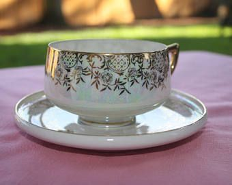 Norcrest Fine China Teacup and Saucer
