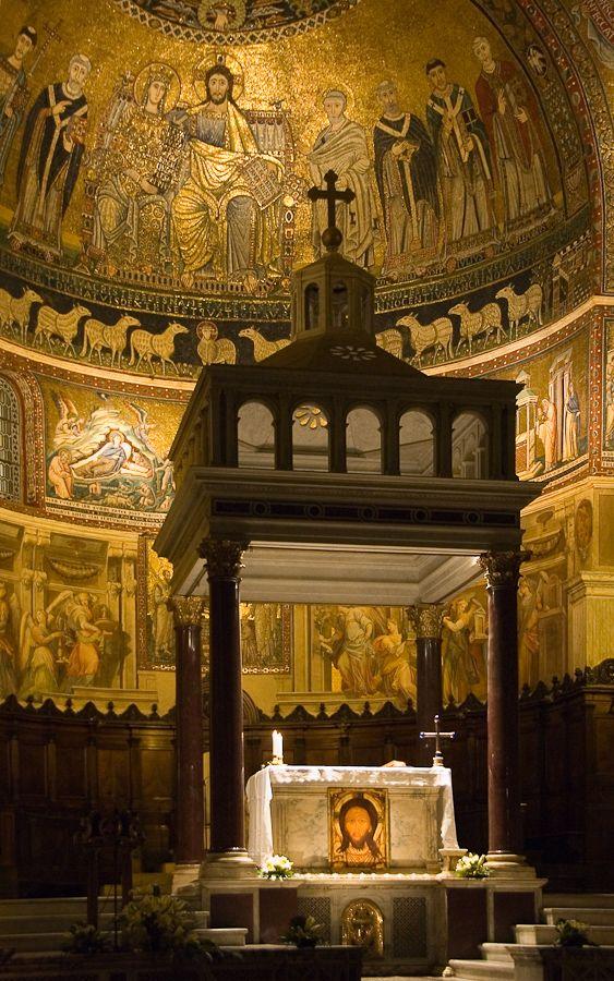 Speedup Illussions — confinedlight: Santa Maria in Trastevere, Rome,...