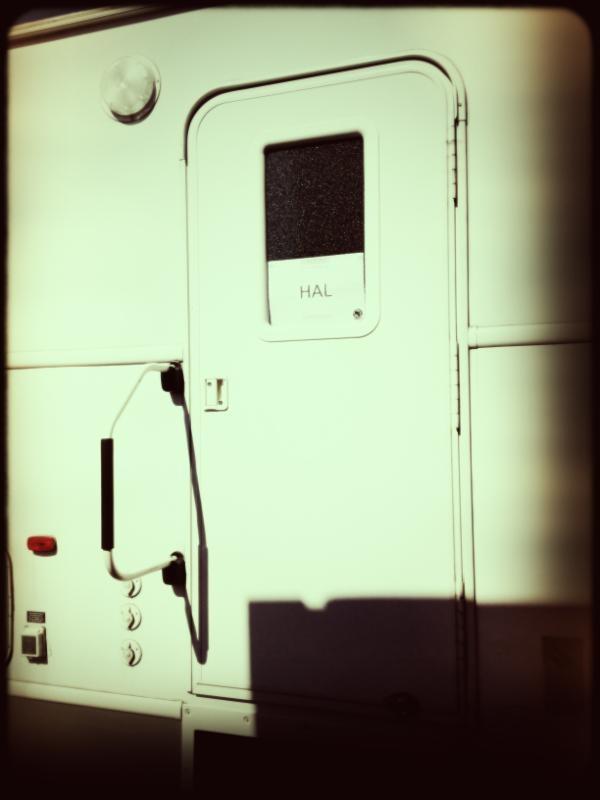 Hal's set door ~ Being Human BBC