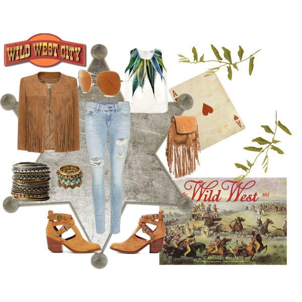 """""""I'm in the Wild West"""" by nikita-17 on Polyvore"""