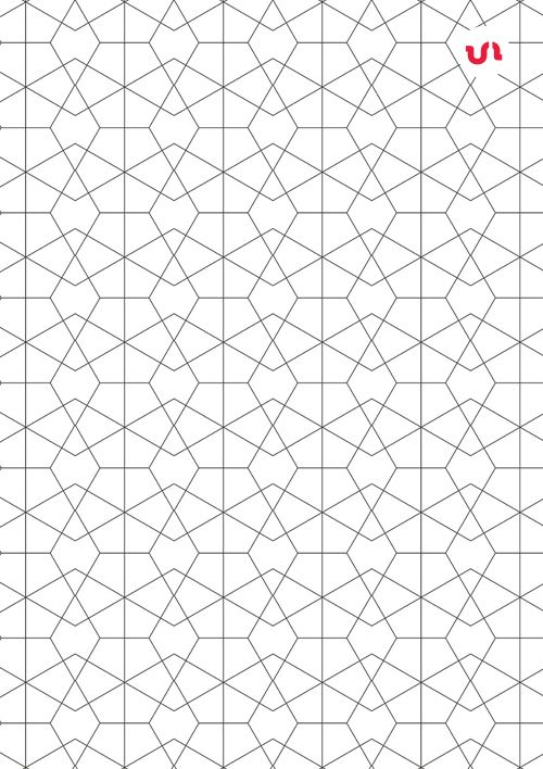 Simple Line Geometric Seamless Vector Patterns by @youandigraphics
