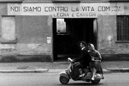 Gianni Berengo Gardin :: Milan, 1950′s