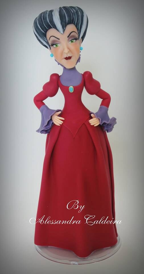 Evil Stepmother-Cinderella | Alessandro Caldeira | Gumpaste Figures