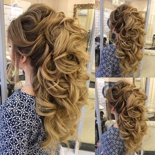 Elstile Long Wedding Hairstyle Inspiration ❤️ http://www.deerpearlflowers.com/elstile-long-wedding-hairstyle-inspiration/6/