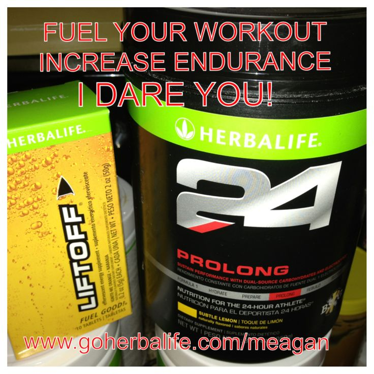 Need energy before your workout, a boost mid workout to continue, and a protein packed recovery drink for after? Herbalife 24 was created for the 24 Hour Athlete, and is changing lives! Herbalife has been around for over 30 years and has the science and knowledge to back it up! Find out more at www.goherbalife.com/meagan