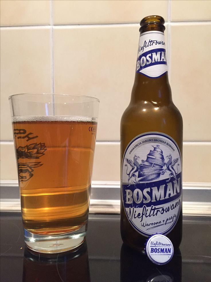 Bosman Niefiltrowane - Browar Bosman, 2015.06.29