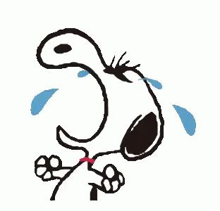 Snoopy Crying GIF - Snoopy Crying - Discover & Share GIFs